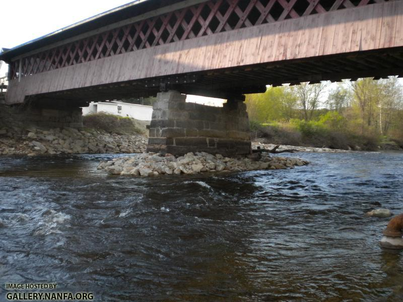newash covered bridge recent