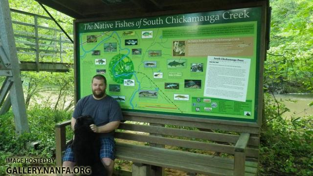 South Chick Fishes Sign